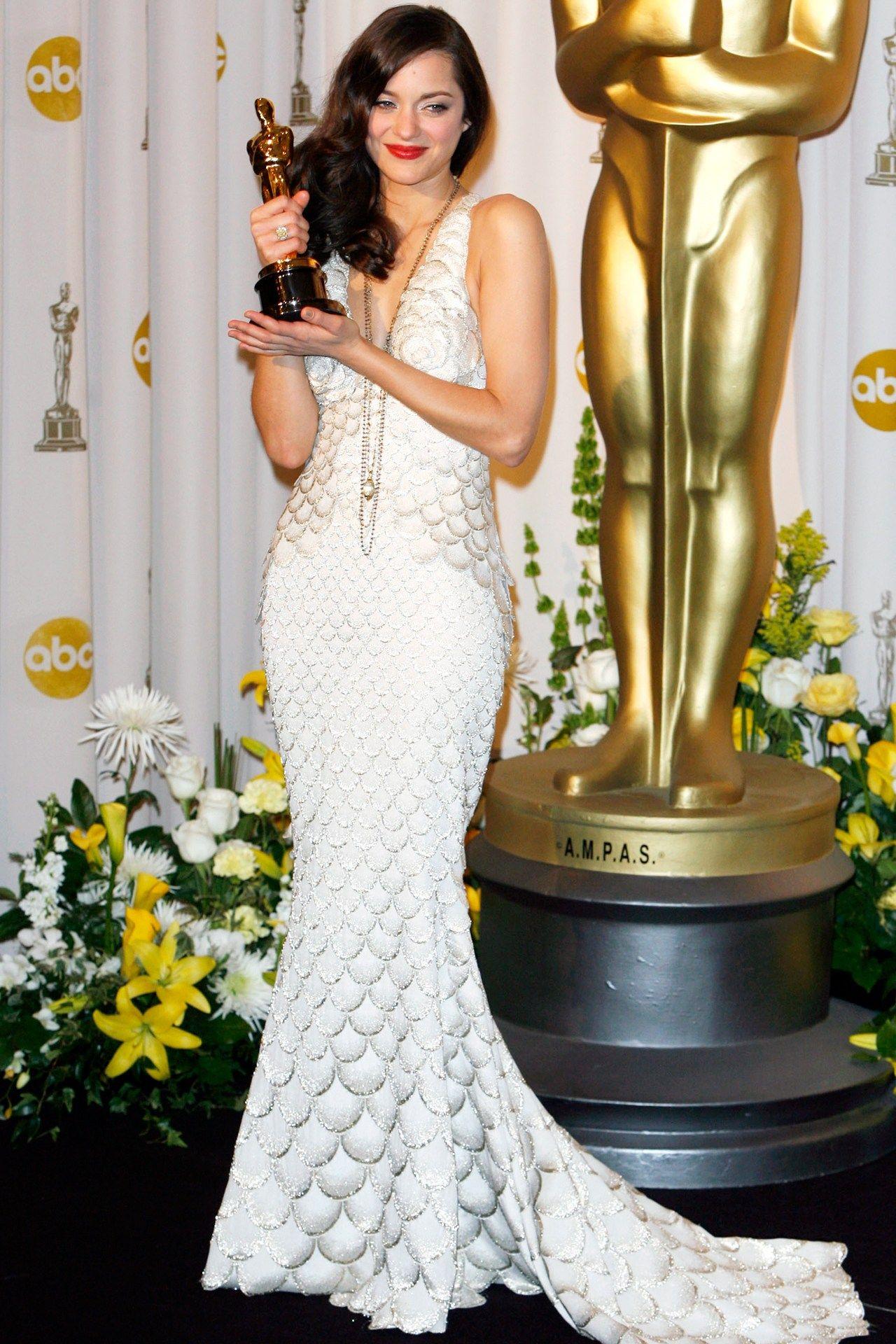 2008 Best Actress Winner Marion Cotillard For La Vie En