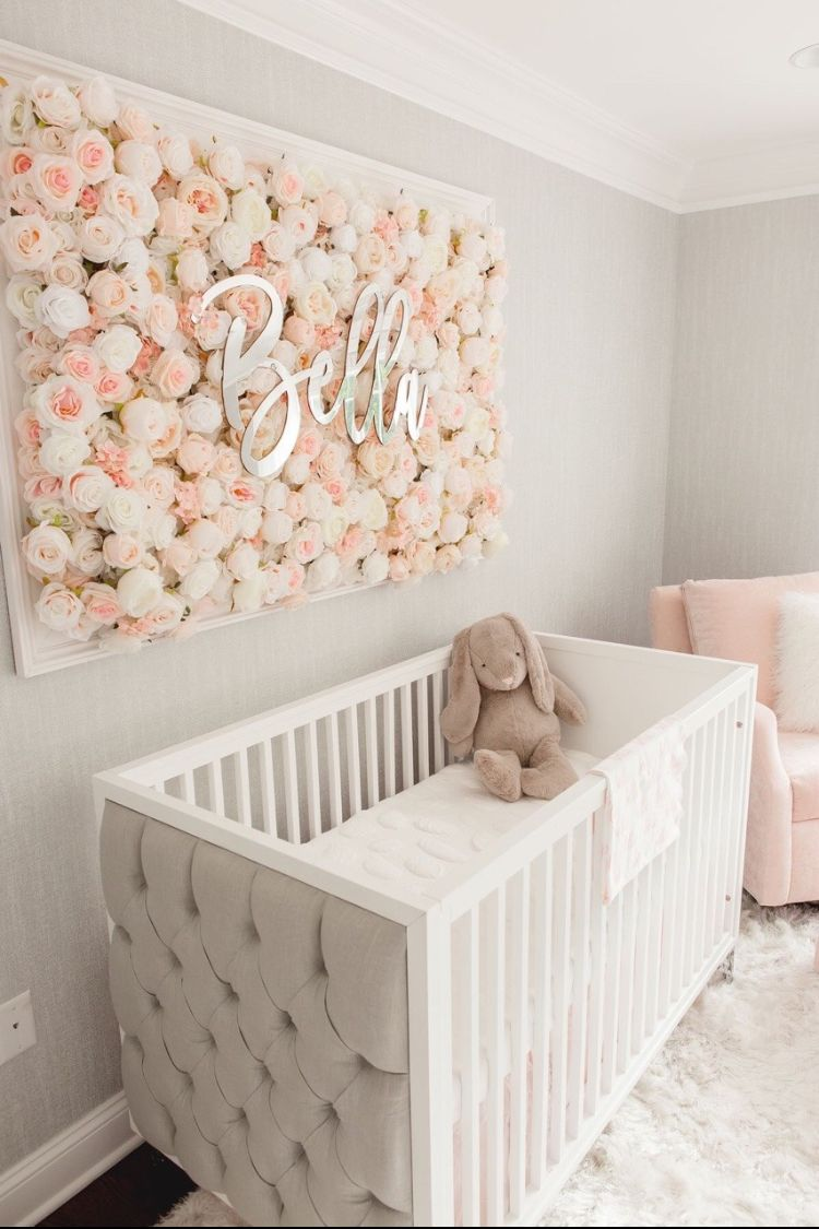 Habitaci n para beb s chic y cara danielag habitaci n for Decoracion para habitacion de bebe nina