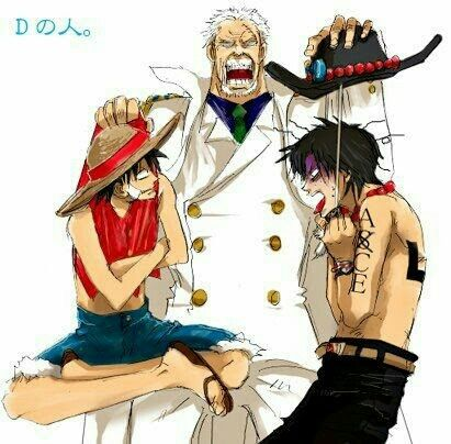 Garp, Ace and Luffy grandsons captured | One Piece Addict