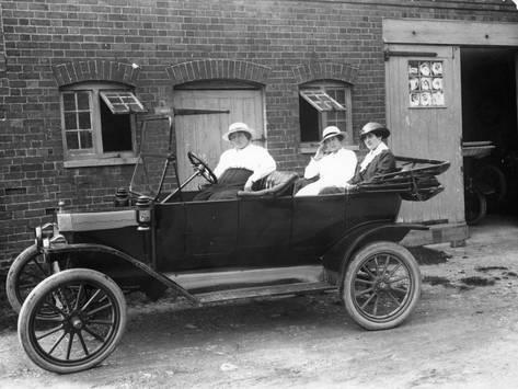 Photographic Print Model T Ford C1913 24x18in Photographic Print Art Com Model T