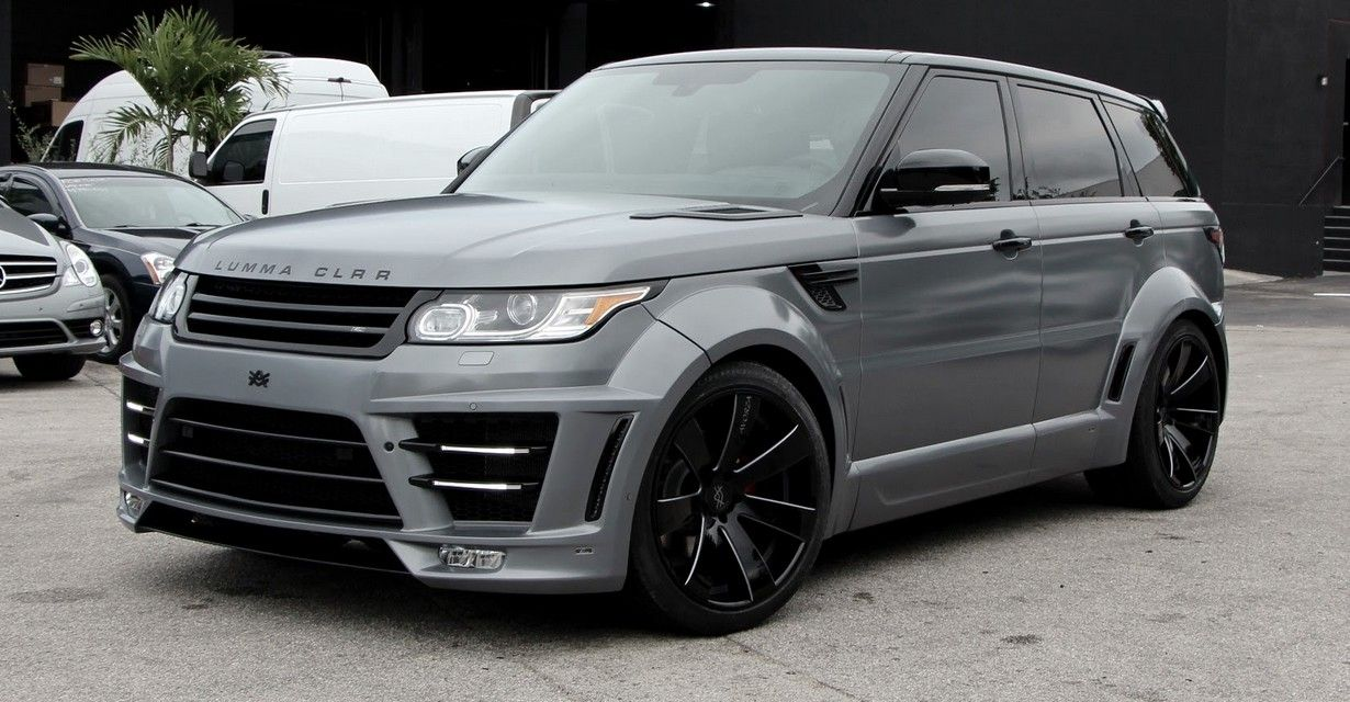 Range Rover Sport Lumma Clr Rs Widebody Edition Lumma Pinterest