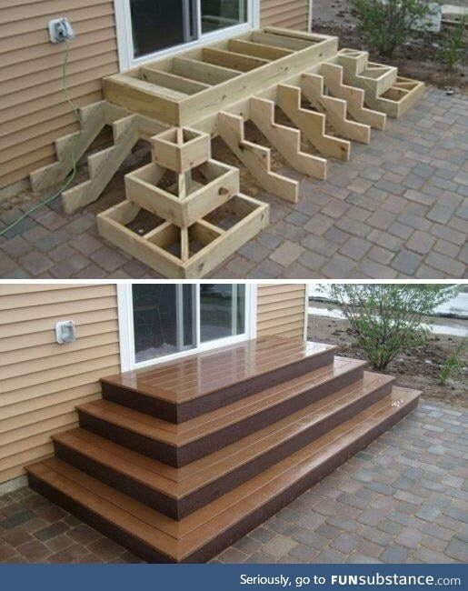 Best How These Type Of Stairs Are Made In 2019 Deck Stairs 400 x 300