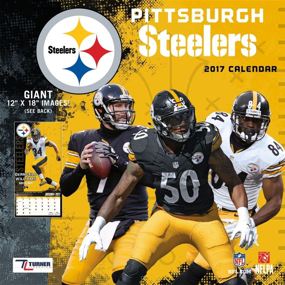 Pittsburgh Steelers 2019 Wall Calendar | Pinterest