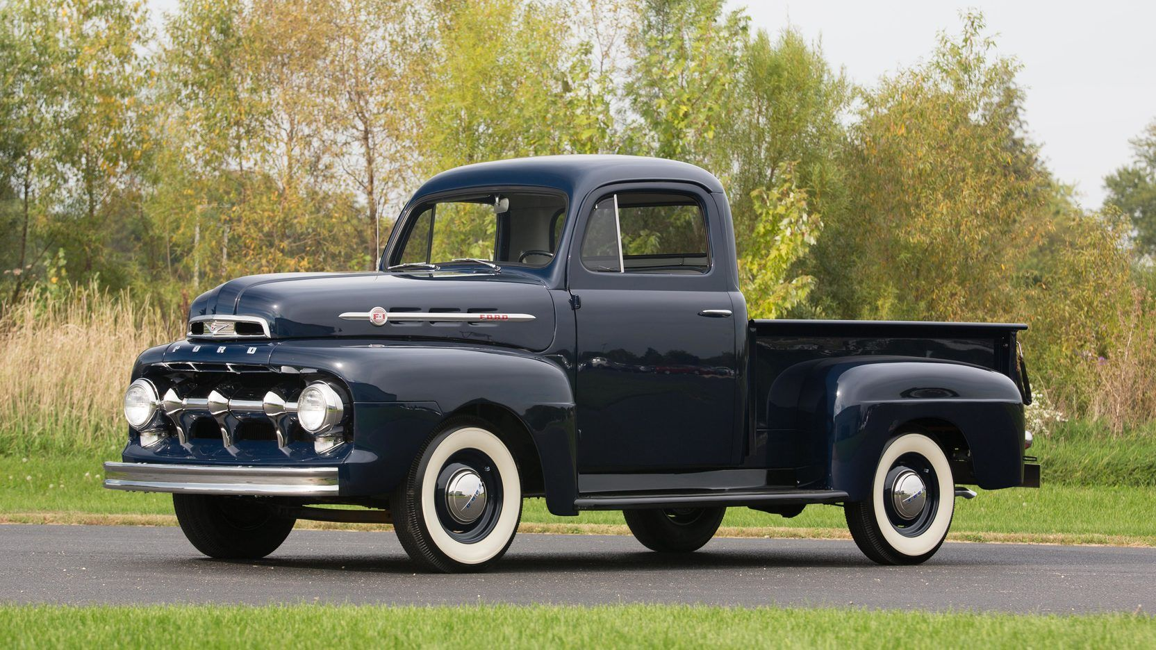 1952 Ford F1 Pickup Presented As Lot F121 1 At Schaumburg Il