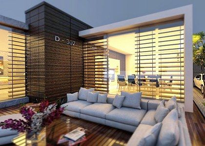 Modern Villa Design & VISOPT | closed shot - Vray render by AHMED ...