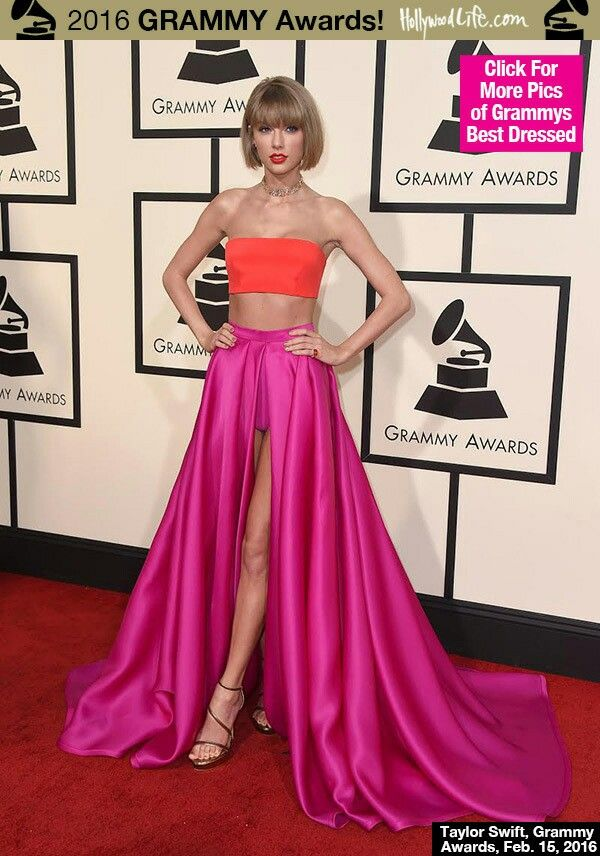 Taylor Swift at 2016 Grammys