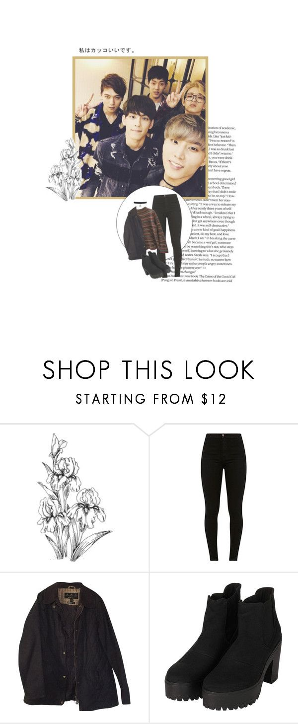 """""""I Don't Love You No More"""" by kassie234 ❤ liked on Polyvore featuring Jones New York, Barbour and Topshop"""