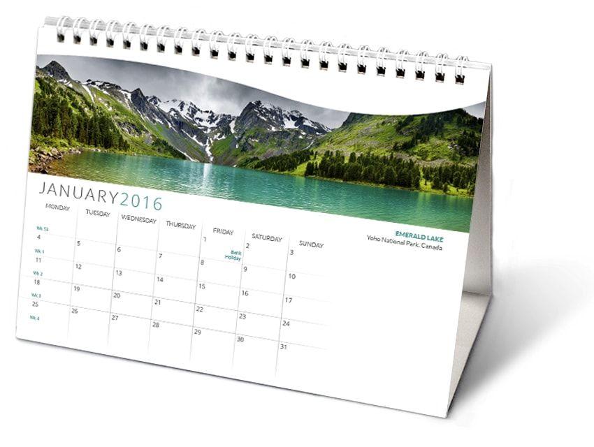 Resource Center How To Make A Wire O Calendar 3 Ways Calendar Binding Tutorial Diy Desk Calendar Diy Calendar Calendar