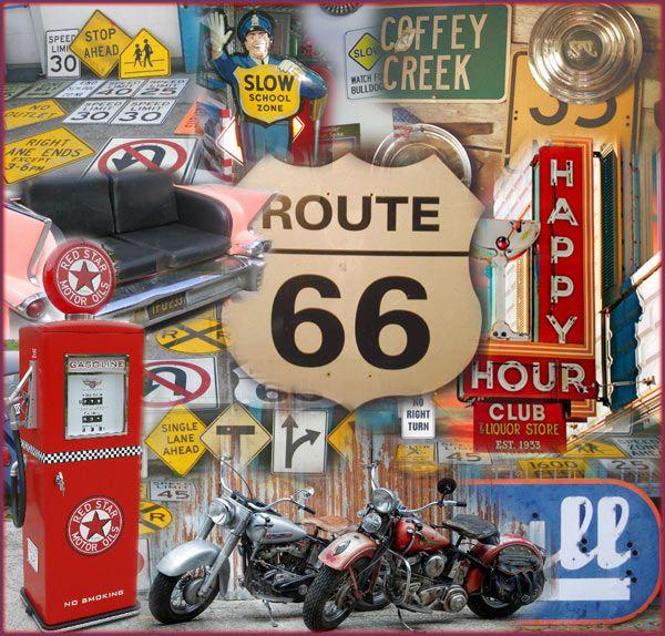 Route 66 Coca Cola | American Warehouse: Messe Mietmobiliar amerikanischer Dinerstil, von ...