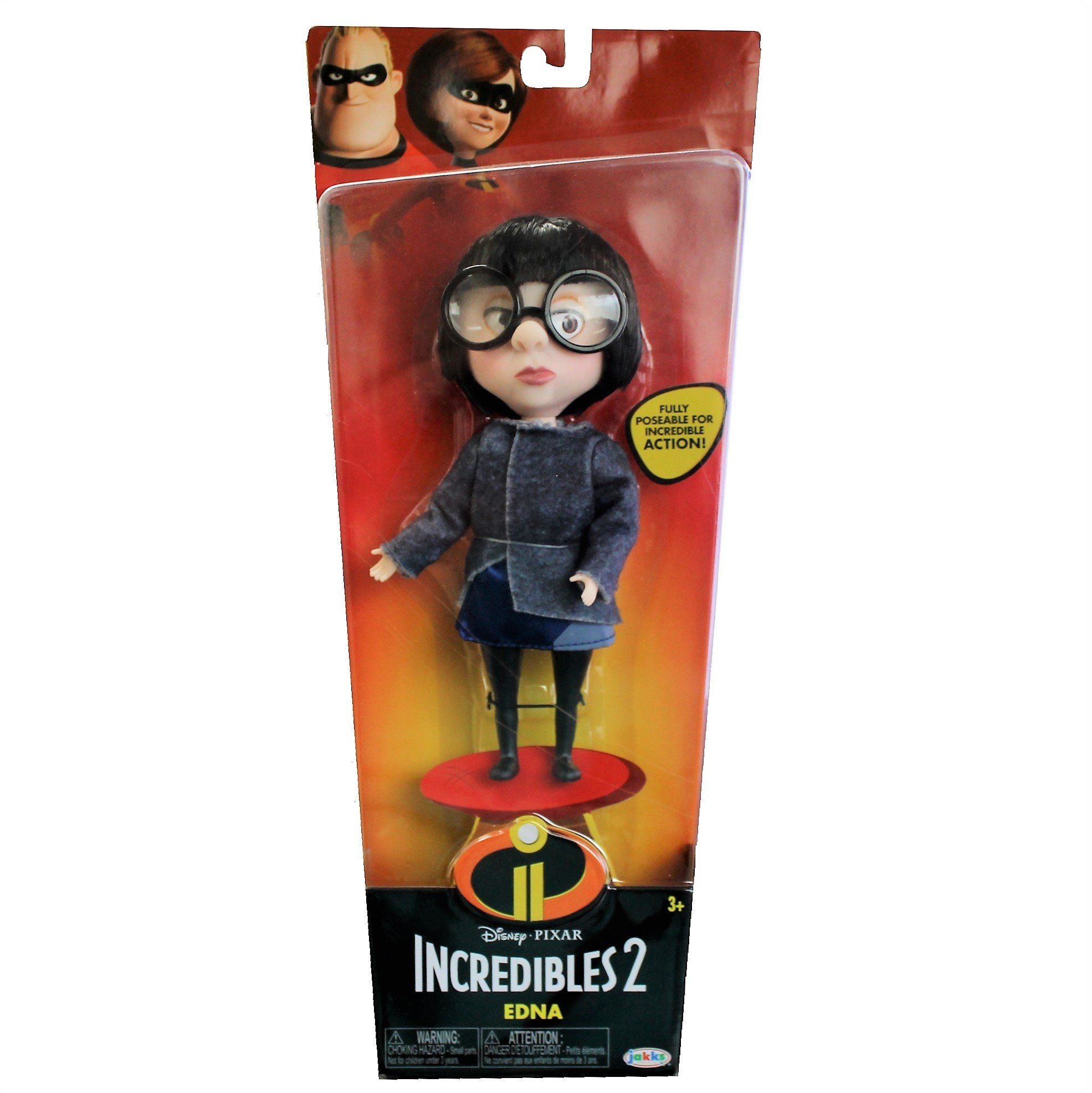 Incredibles 2 Edna Doll