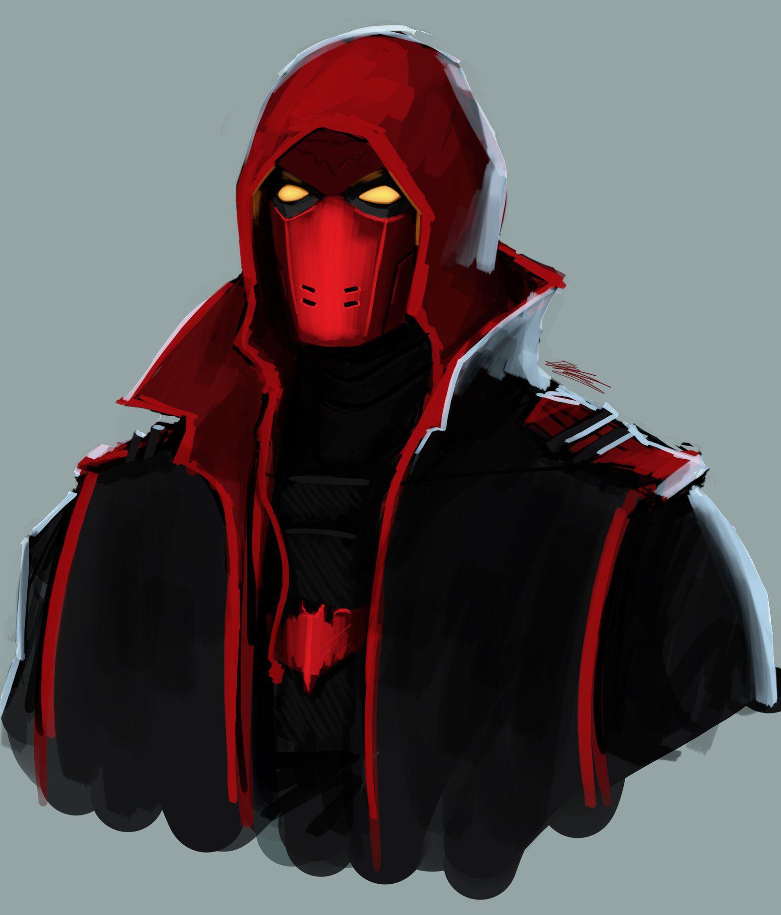 red hood fan art - Google Search | Batman World ...