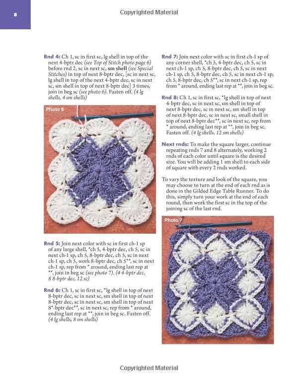 Learn to Do Bavarian Crochet (Annie\'s Attic: Crochet): Jenny King ...