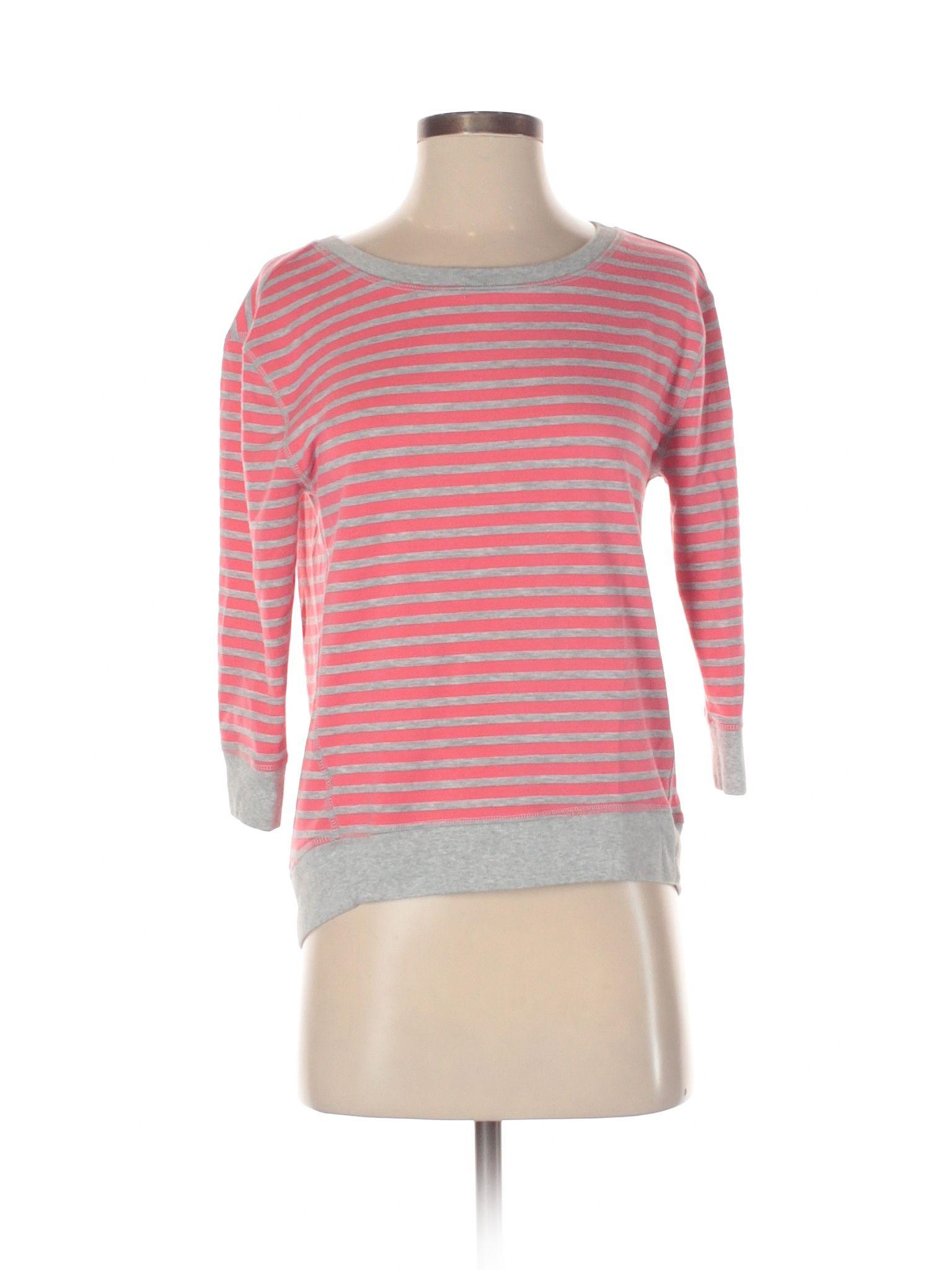 Ann Taylor Loft Sweatshirt Size 400 Coral Womens Clothing