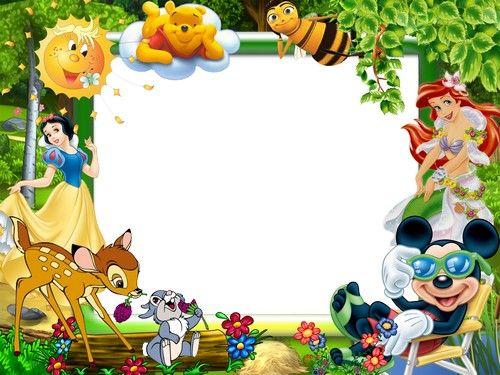 Cartoon Character Frames And Borders | Frameswalls.org
