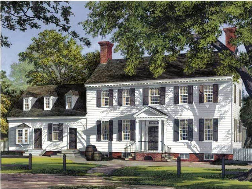 Georgian Architecture House Plans Awesome Georgian Colonial House Style Ayanahouse Colonial House Plans Colonial House Colonial Style Homes