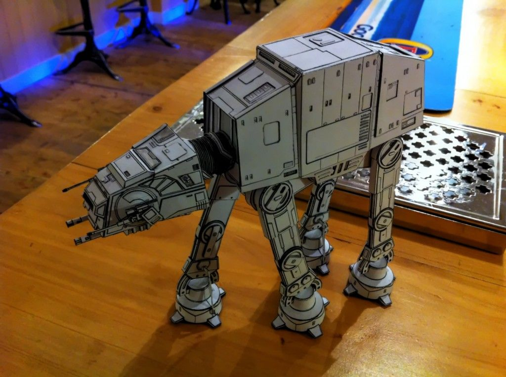 all terrain armored transport at at star wars papercraft the boy pinterest. Black Bedroom Furniture Sets. Home Design Ideas