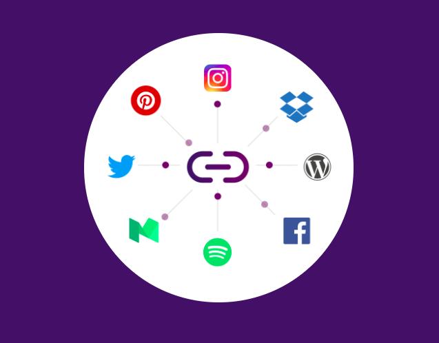 Linkkle Is A Super Simple Tool For All Your Social Media Links Techcrunch Social Media Marketing Facebook Social Media Funny Wifi Names