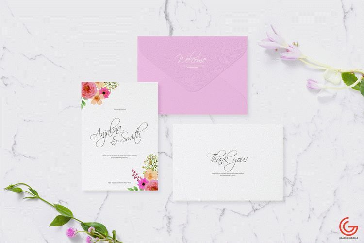 Free Invitation Card Mockup For Wedding Greetings Download Free Wedding Cards Original Wedding Invitations Free Invitation Cards