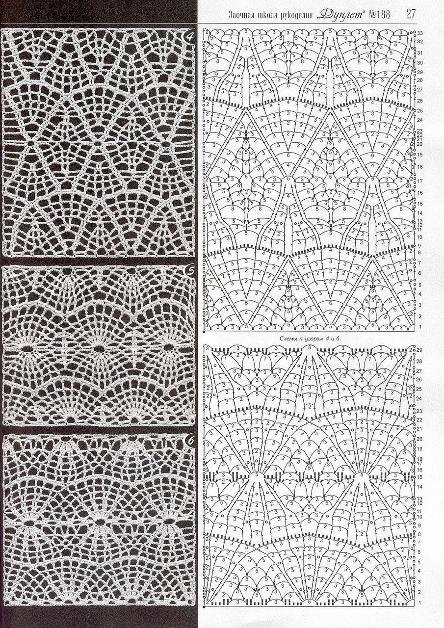 33.jpg | Irish Crochet | Pinterest | Puntadas, Ganchillo y Puntos