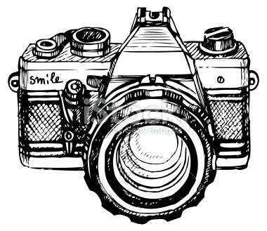 Hand Painted And Rendering As Vector Illustration Camera Drawing Camera Art Camera Illustration