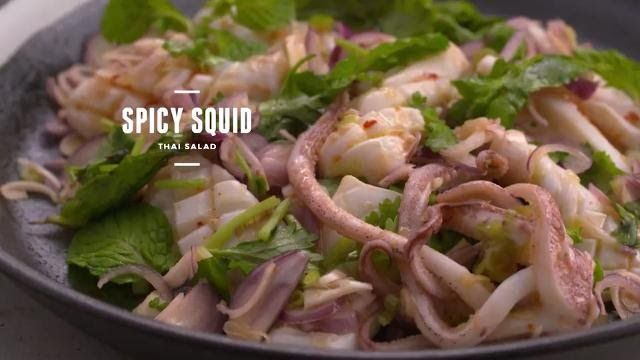 Spicy squid thai salad cooking for love s2 asian food channel spicy squid thai salad cooking for love s2 asian food channel forumfinder Gallery
