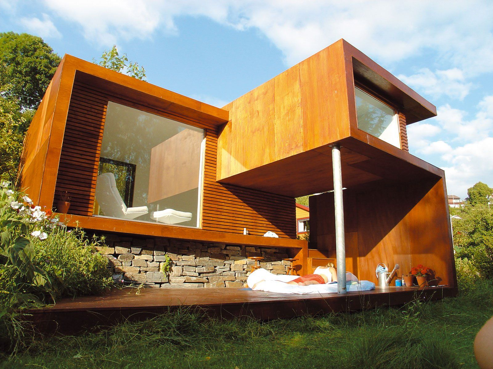 Modenn Natural Design Of The Modern Wooden Villa That Has Excerpt     Modenn Natural Design Of The Modern Wooden Villa That Has Excerpt Wood And  Stone  home decorator  home decorators coupon code  owl home decor  discount  home