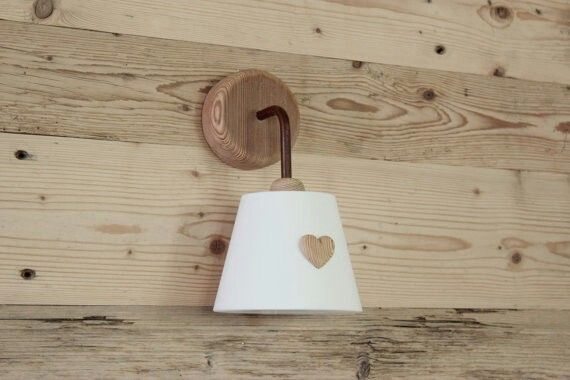 Applique legno lampade pinterest lampade legno e applique