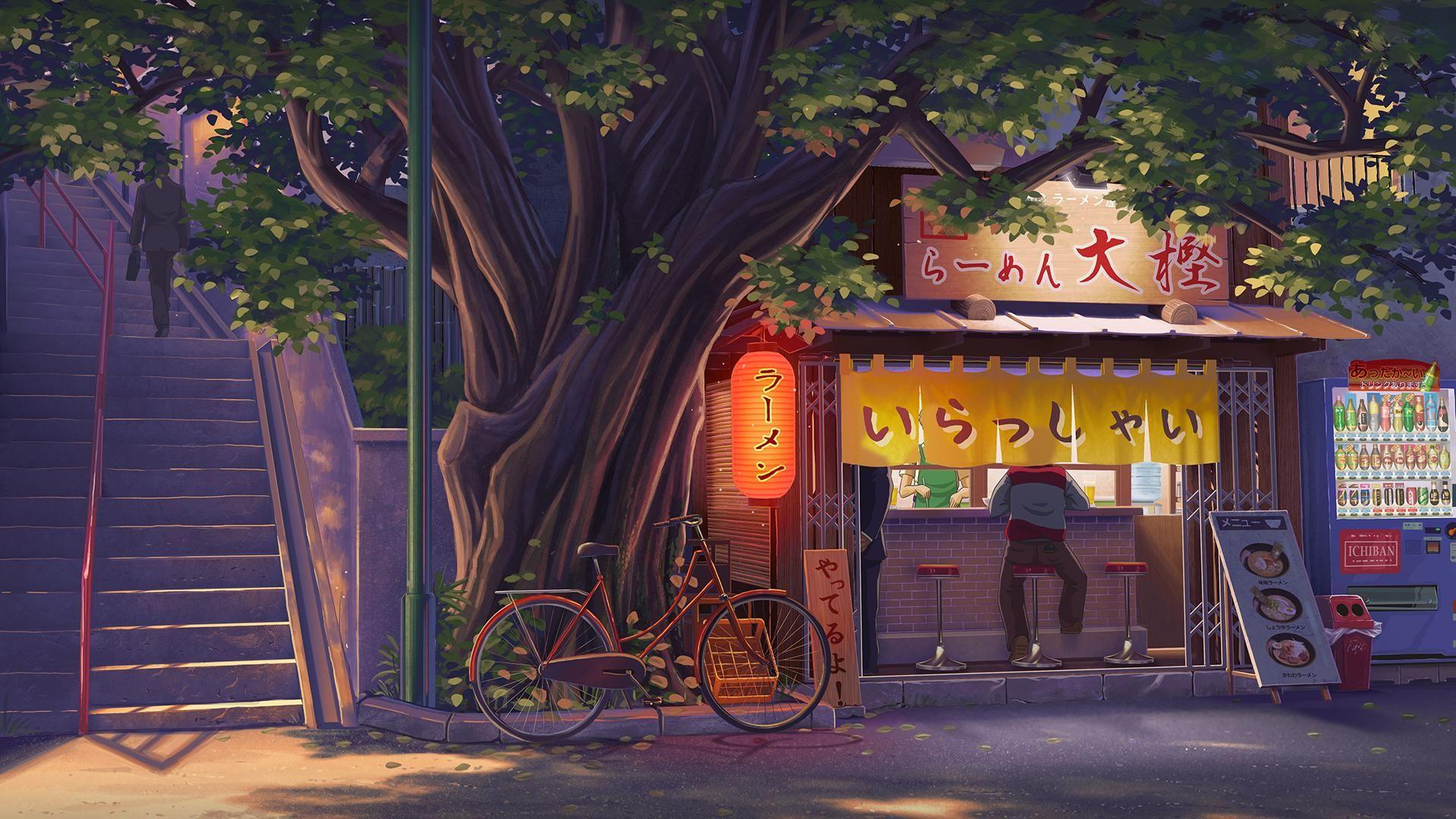 Pin By Gabby Gutierrez On Art 3 Aesthetic Desktop Wallpaper Anime Scenery Wallpaper Scenery Wallpaper