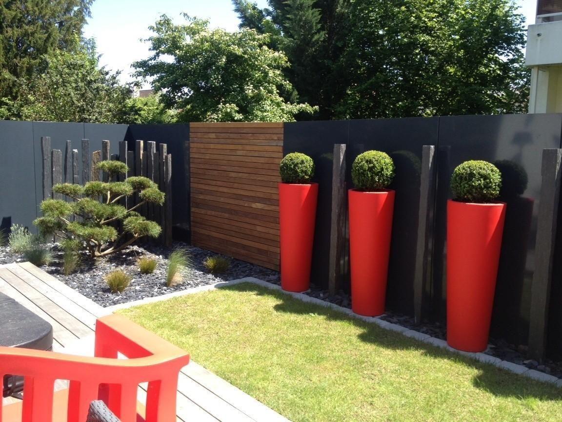 Jardins contemporain | Projets de jardins, Jardin ...