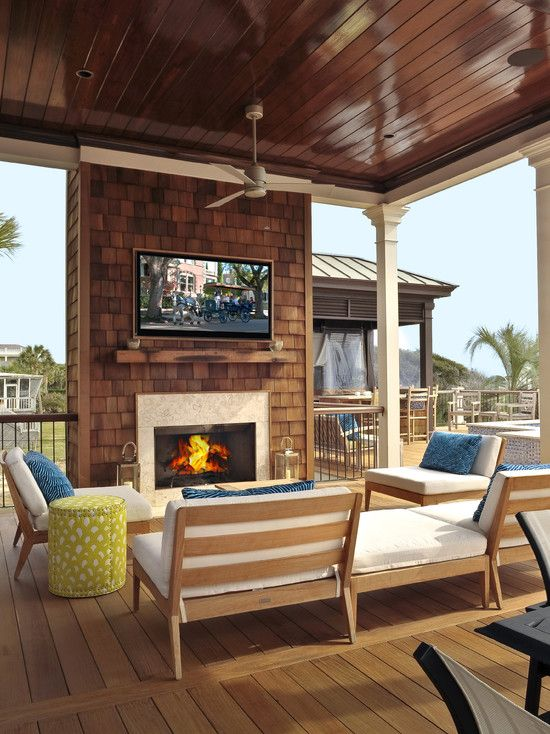 Beautiful And Modern Covered Deck Ideas Outdoor Kitchen Design Outdoor Living Space Outdoor Kitchen Appliances