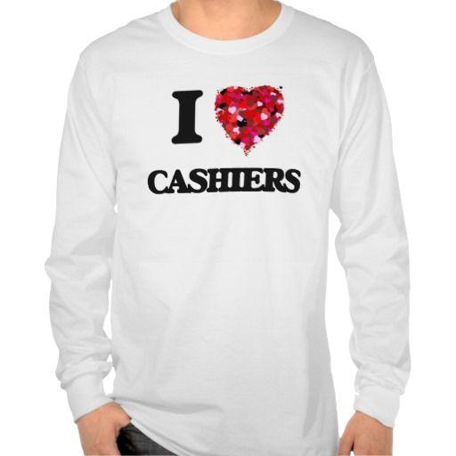 I love Cashiers T Shirt, Hoodie Sweatshirt