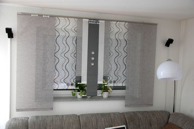 Moderne Schiebegardinen Etsy Sliding Curtains Country Modern Home Curtains Living Room