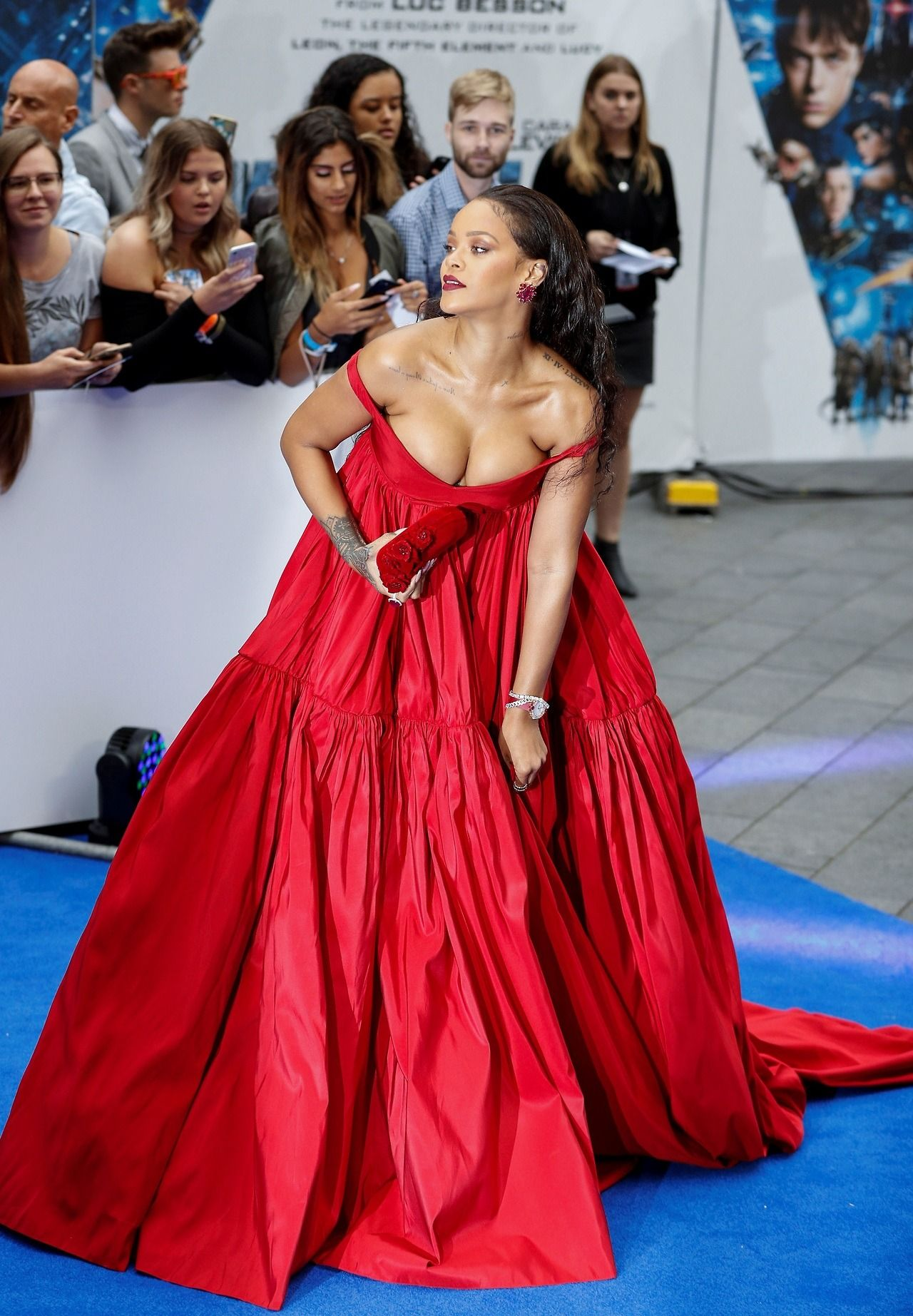 Rihanna Roter Teppich Rihanna Attends The Valerian Premiere In London July 24 Riri