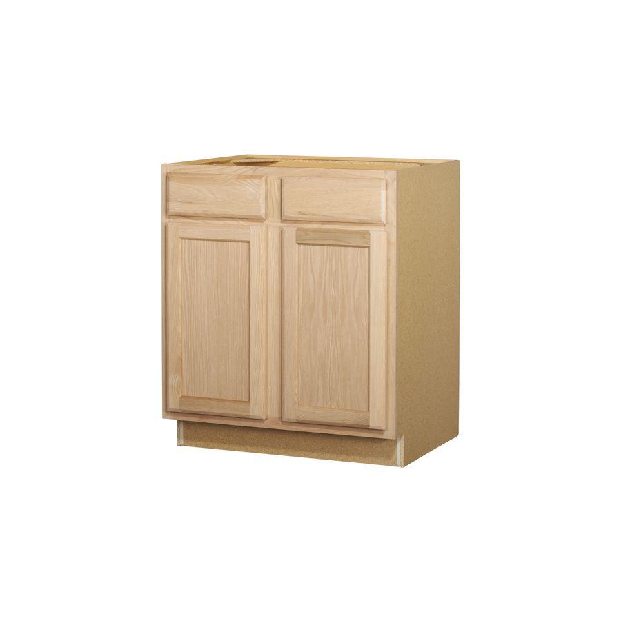 Best Shop Kitchen Classics 30 In Oak Door And Drawer Base 400 x 300