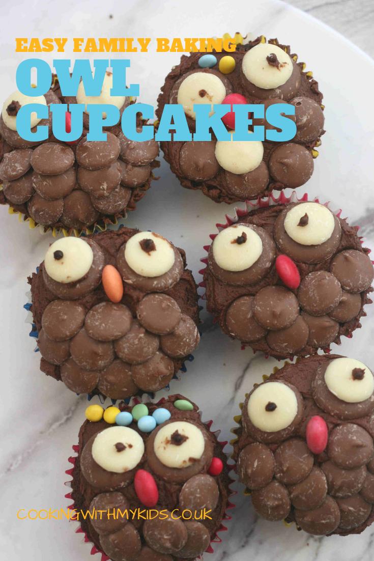 Owl Cupcakes Recipe Cupcake Party Owl Cupcakes Chocolate