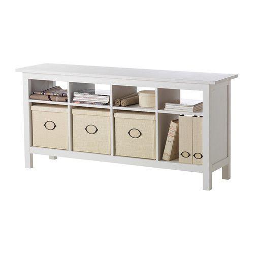 Hemnes Ikea Sofa Table: $189 Here It Is Again Accessorized. HEMNES Sofa Table IKEA