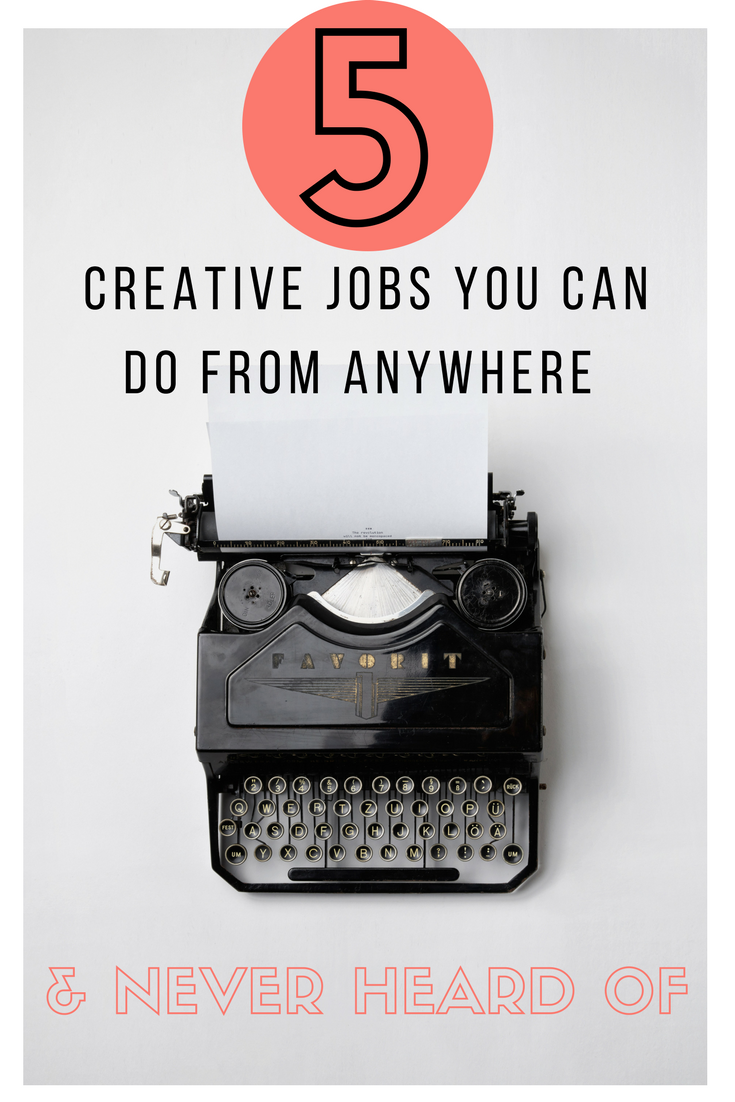5 creative jobs you can do from anywhere never heard of travel