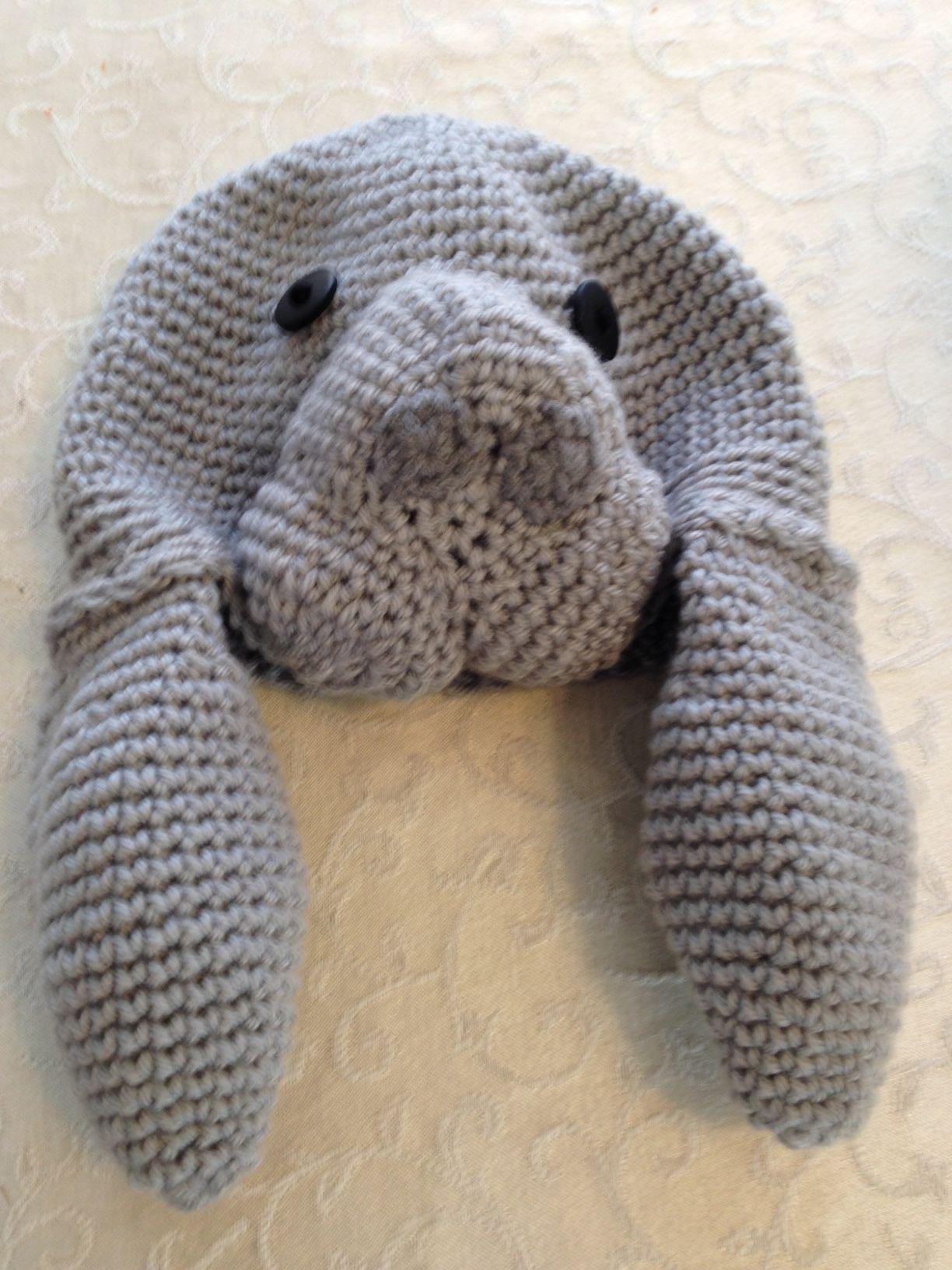 Crochet Manatee Hat | My Style | Pinterest | Tiere häkeln, Hüte und ...