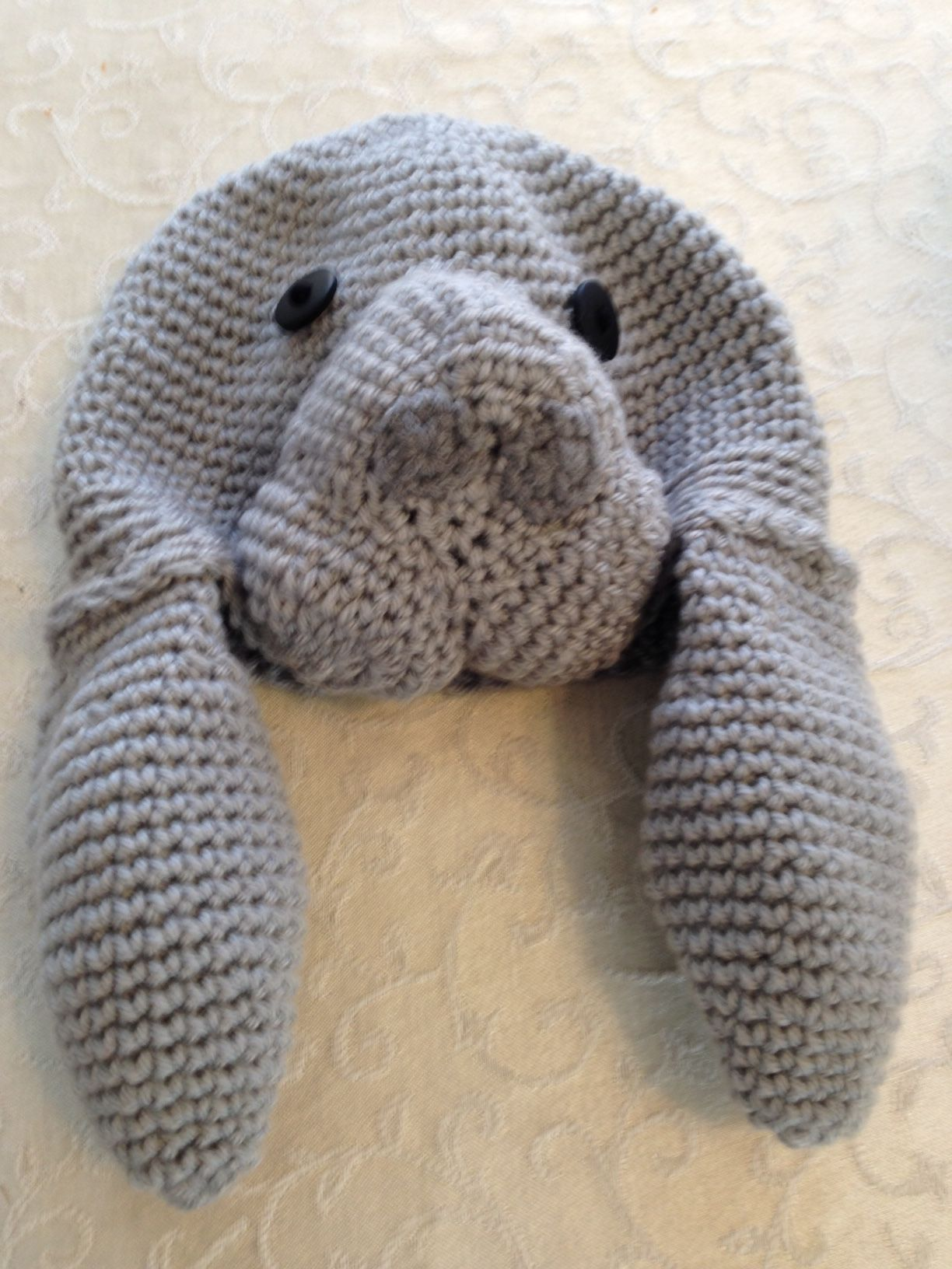 Crochet Manatee Hat | My Style | Pinterest | Manatee, Crochet and ...