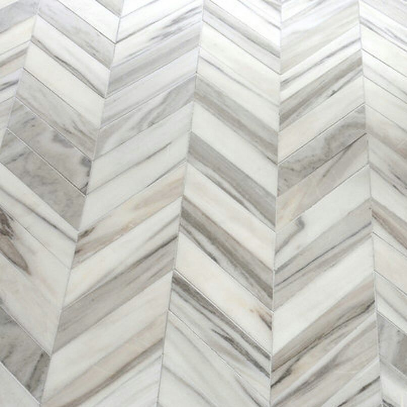 Rich In Natural Details This Chevron Tile Is So Marble