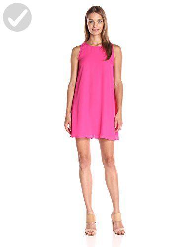 Lucca Couture Women's Sleeveless Swing Dress, Fuchsia, Medium - All about women (*Amazon Partner-Link)