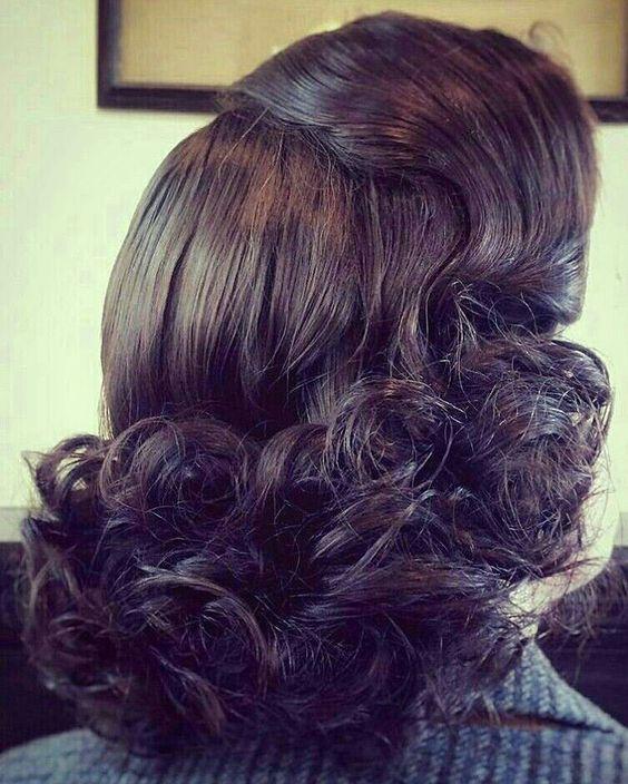 coiffure mi longue bouclée | Coiffure mi long, Coiffure, Mi long