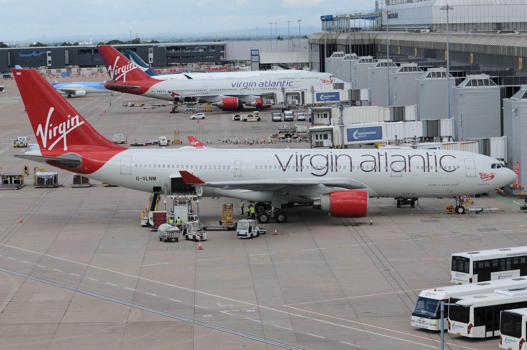 Resultado de imagen para virgin atlantic manchester
