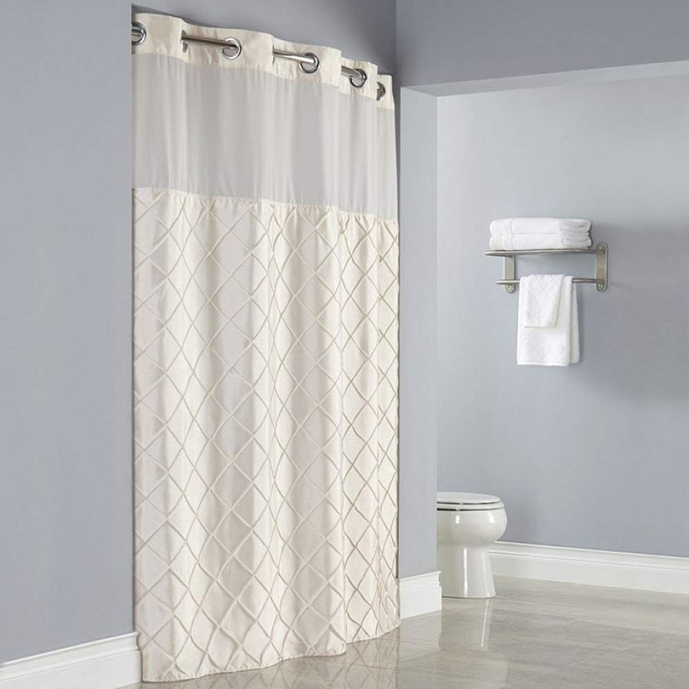 Amazon Com Beokreu Curved Adjustable Expandable Shower Curtain