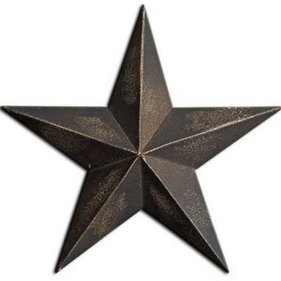 Antique Black Barn Star