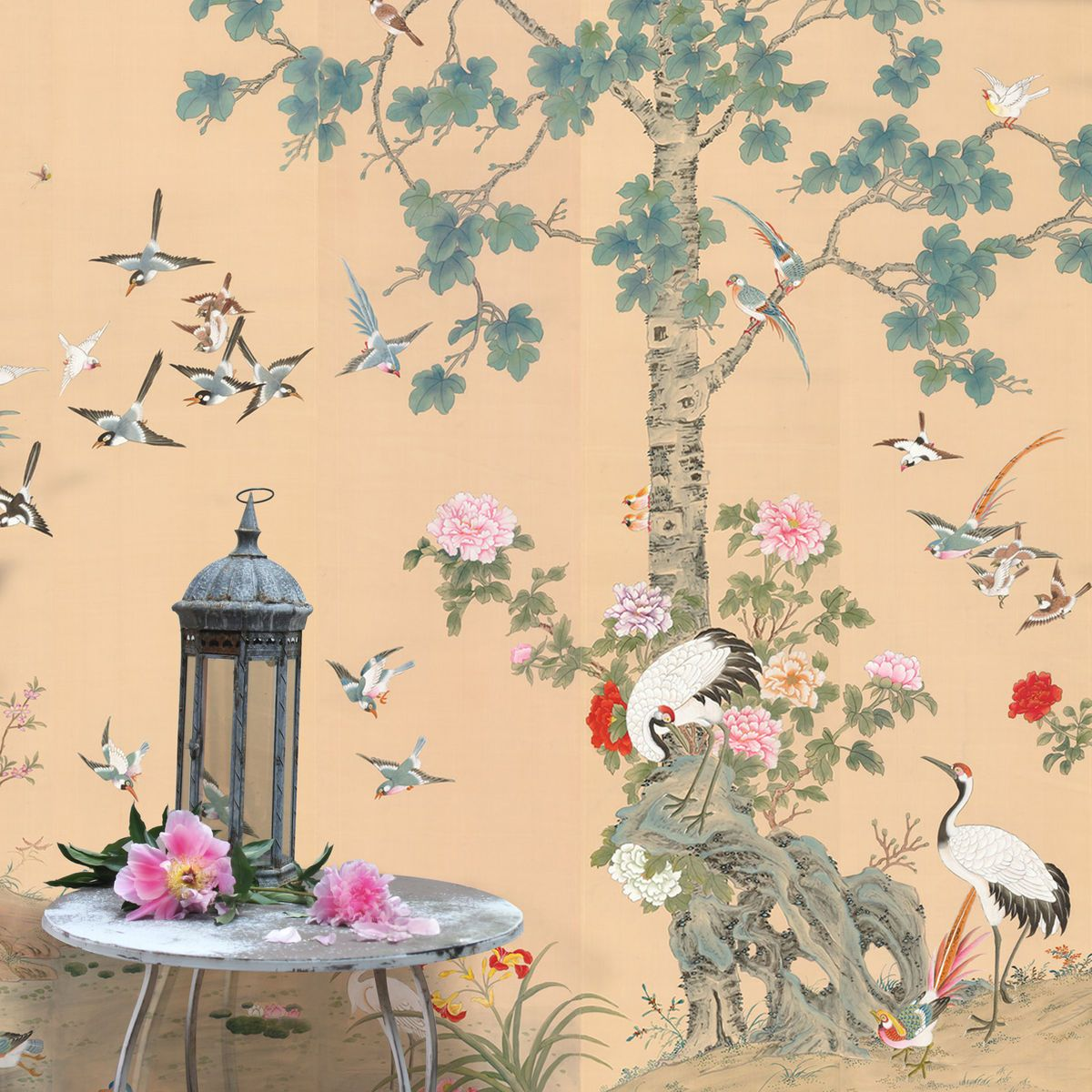 chinoiserie wallpaper - Google Search | beautiful chinoiserie ...