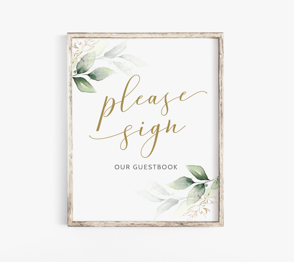 Please Sign Our Guest Book Printable Guest Book Sign Wedding Etsy In 2021 Wedding Guest Book Sign Wedding Templates Guest Book Sign