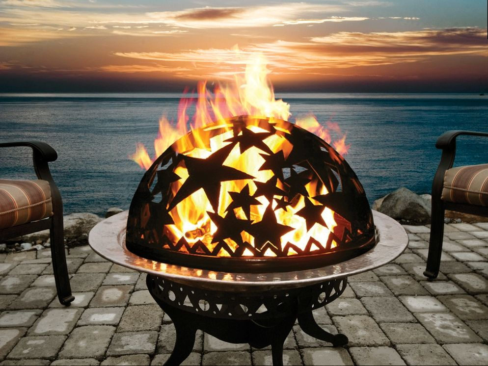 Portable Beach Firepit