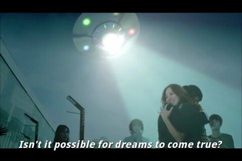 The masters sun. Lol her dream love with ghosts applauding and a ufo haha she's hilarious.