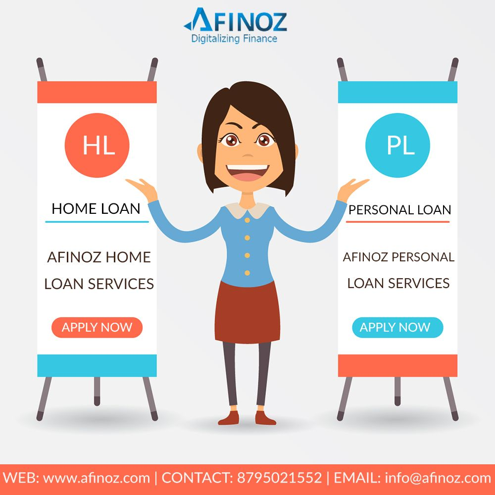 Apply for Personal Loan and Home Loan Online and get
